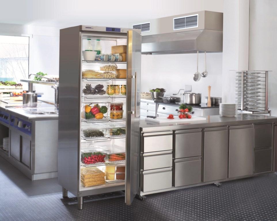 Профессиональные холодильники и морозильники либхер для ресторанов и кафе